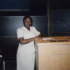 Adebanki Lesi at the 2005 American Multicultural Student Leadership Conference