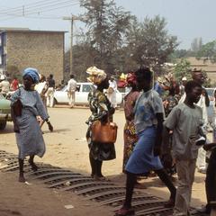 Walking through Ibadan