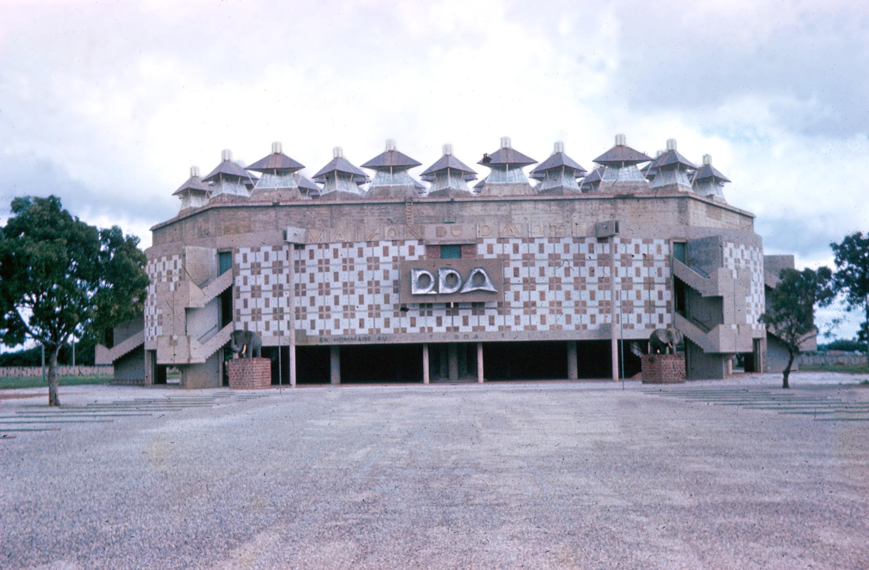Headquarters of the Ruling RDA Party