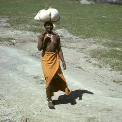 People of South Africa : Xhosa woman with bundle