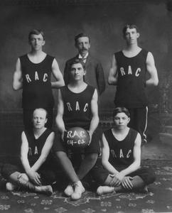 Reach Athletic Club basketball team state champions 1902-1906