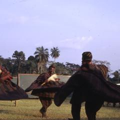 Dondon dancers spinning
