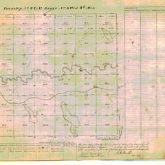 [Public Land Survey System map: Wisconsin Township 27 North, Range 08 West]