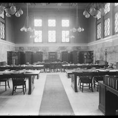 Library - reading room - April