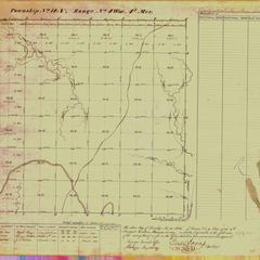 [Public Land Survey System map: Wisconsin Township 14 North, Range 04 West]