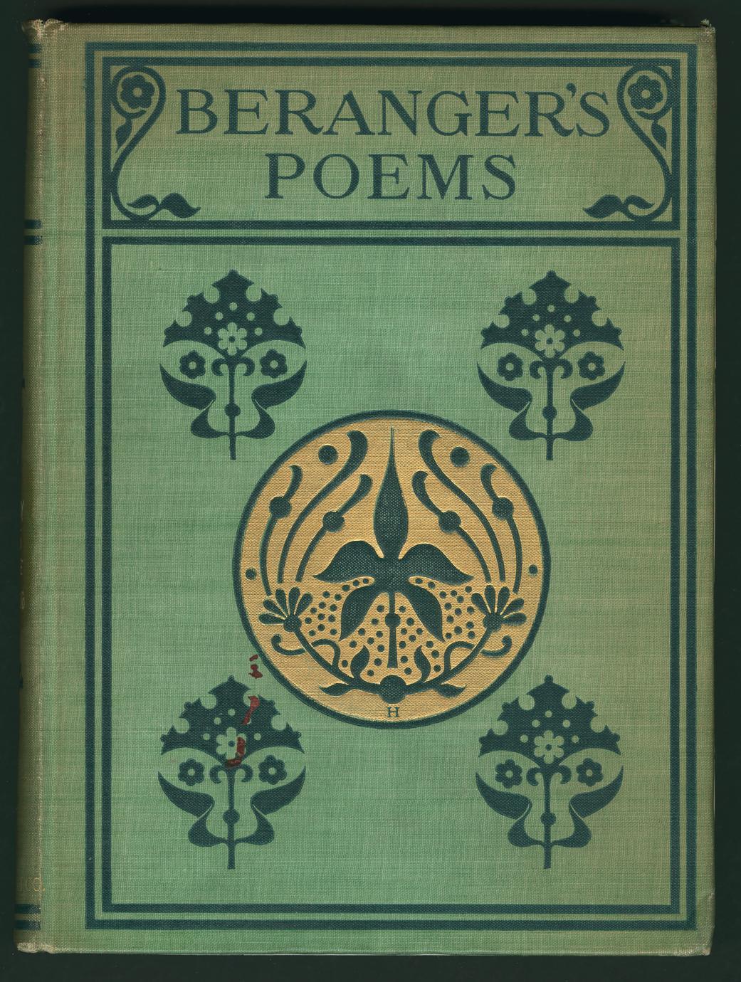 Béranger's poems : in the version of the best translators (1 of 3)