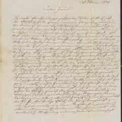 "[Letter from Karl to ""Lieber Freund,"" October 30, 1849]"