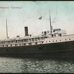 "The ""Carolina"" steamer"