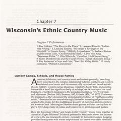 Wisconsin's ethnic country music