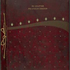 Phi Upsilon Omicron scrapbook, ca. 1921-1958