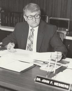 Barron County Campus Dean John F. Meggers