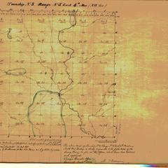 [Public Land Survey System map: Wisconsin Township 03 North, Range 05 East]