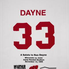 Ron Dayne towel