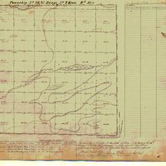 [Public Land Survey System map: Wisconsin Township 21 North, Range 07 East]
