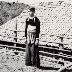 White Hmong young man in Houa Khong Province