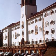 Main administration building of Makerere University, Kampala, Uganda