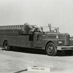 Pirsch aerial ladder truck