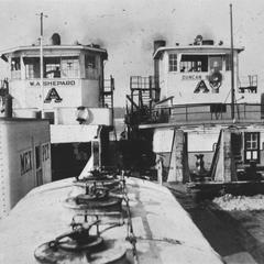 W. A. Shepard (Towboat, circa 1945)