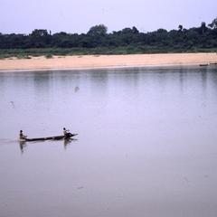 Boat near beach