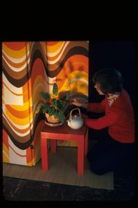 Interior design in the 1970s