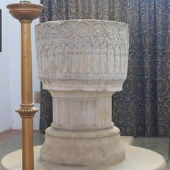 Bere Regis St John the Baptist baptismal font