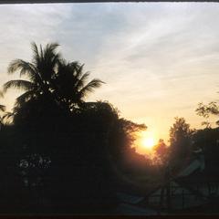 Luang Prabang at sunset