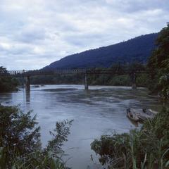 Bridge over Nam Lik River