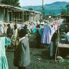 Western-Style Dresses Locally Mass-Produced For Sale in Oromo Market