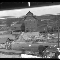 Roller mills on the Yellow River, Necedah, Wis.