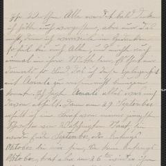 [Letter from A. Maria Koehler to Agnes Sternberger Husting, November 9, 1921]