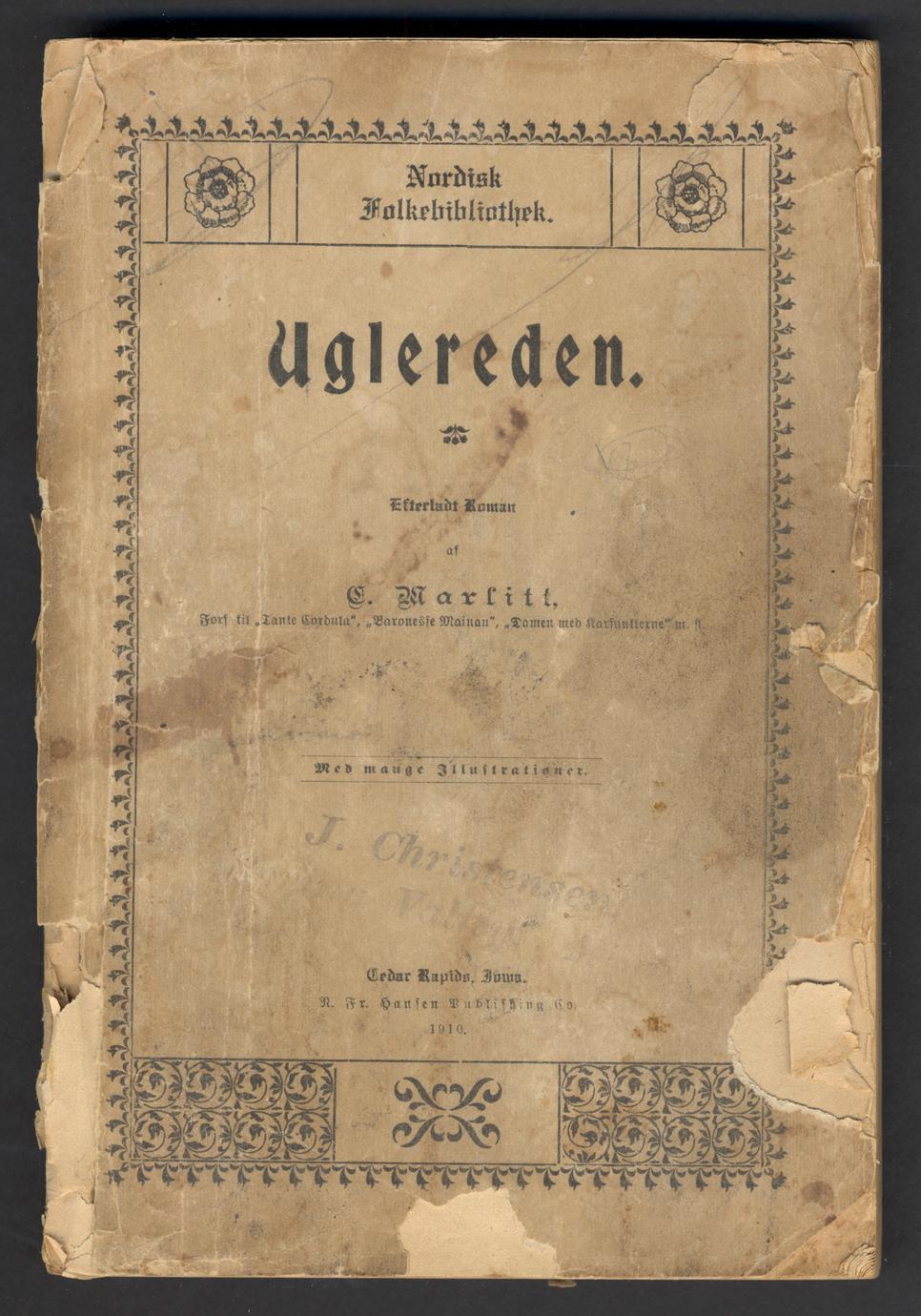 Uglereden : efterladt roman (1 of 3)