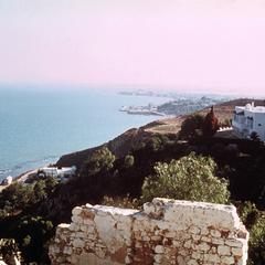 View from Sidi-Bou-Said towards Tunis