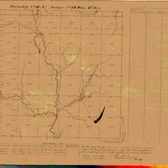 [Public Land Survey System map: Wisconsin Township 31 North, Range 14 West]