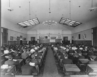 Old Main classroom