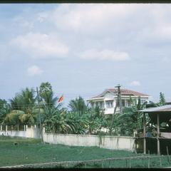 Chinese Embassy building from distance