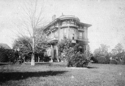 Childhood home, Burlington, Iowa, ca. 1890
