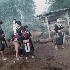 White Hmong villagers in Houa Khong Province