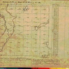 [Public Land Survey System map: Wisconsin Township 44 North, Range 11 West]