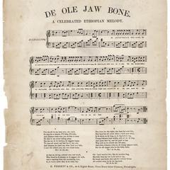 Ole jaw bone