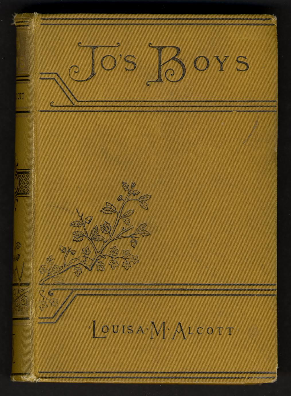 """Jo's boys and how they turned out : a sequel to """"Little men"""" (1 of 3)"""