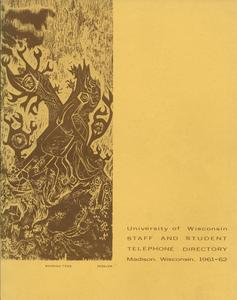 1961-1962 staff and student directory cover
