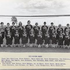 UW Center Barron County soccer squad