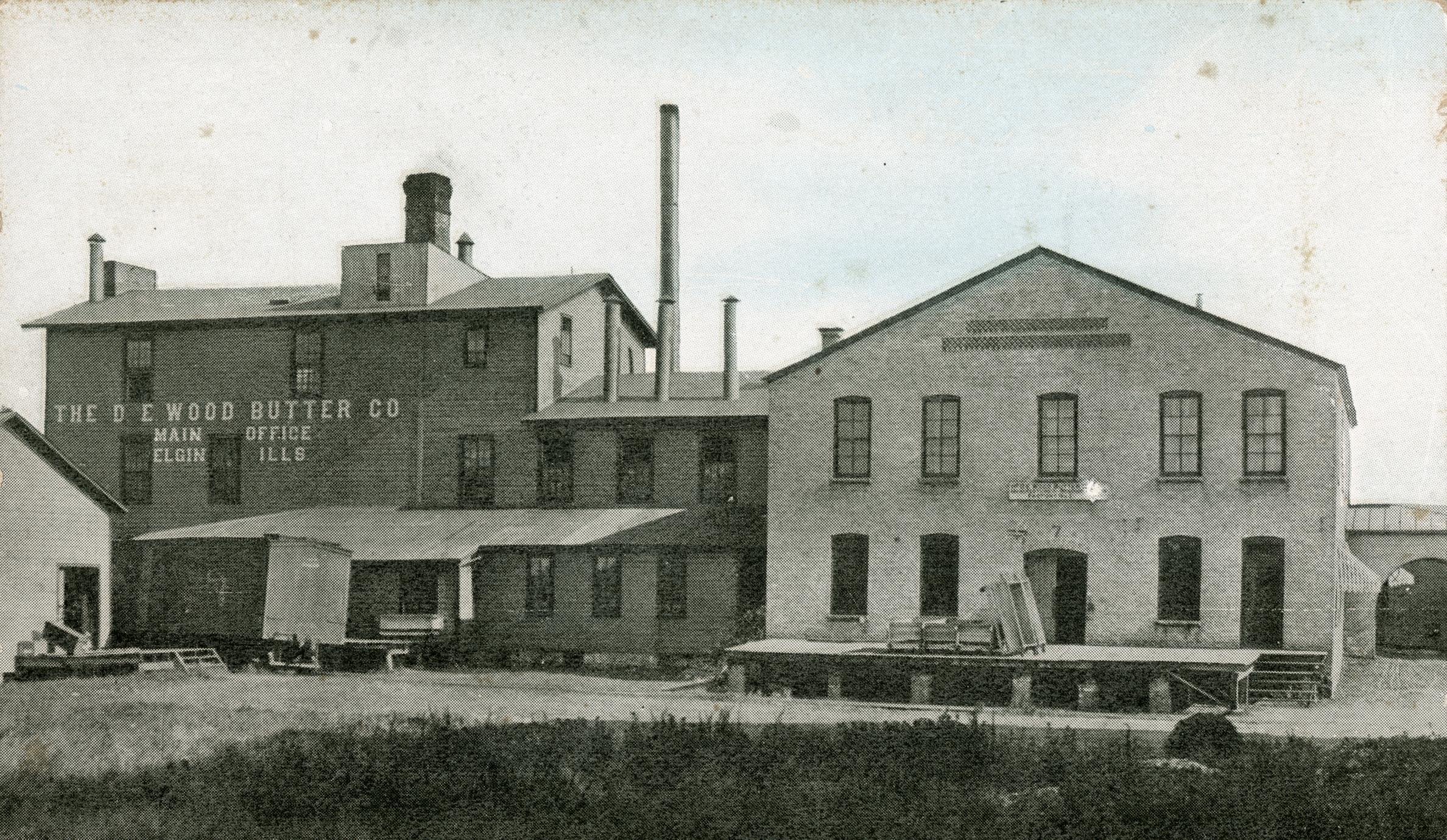 D. E. Wood Butter Company, Evansville, Wisconsin