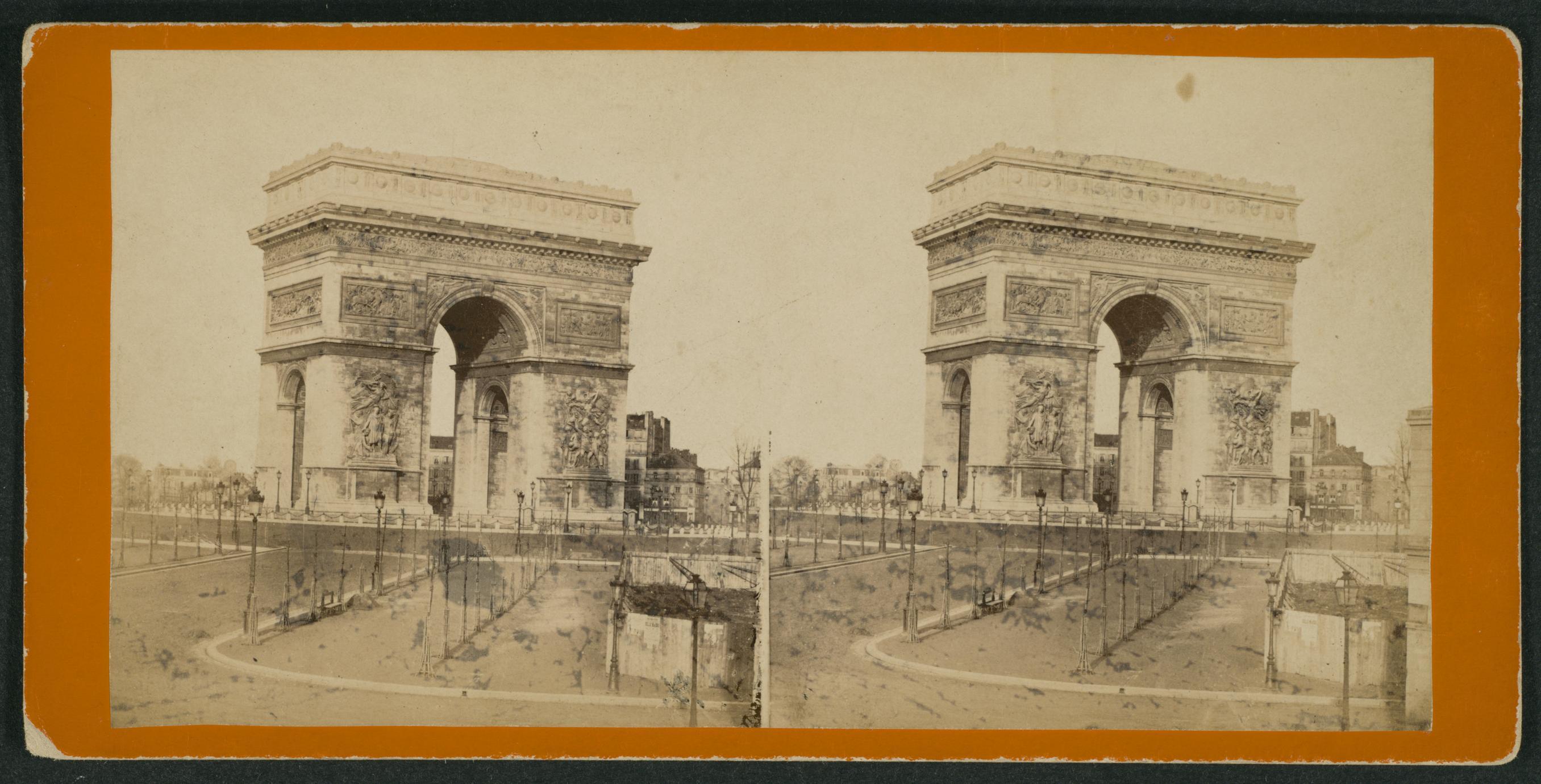 Arc de Triomphe de l'Étoile (1 of 3)