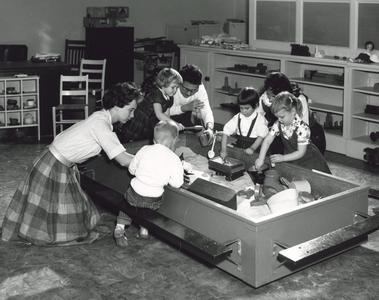 Nursery school classroom