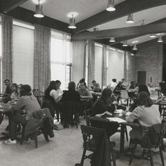 Studying in the commons, University of Wisconsin--Marshfield/Wood County