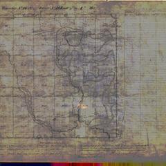 [Public Land Survey System map: Wisconsin Township 37 North, Range 18 East]