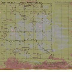 [Public Land Survey System map: Wisconsin Township 25 North, Range 12 East]