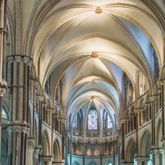 Canterbury Cathedral interior presbytery