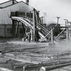 Tigerton lumber yard